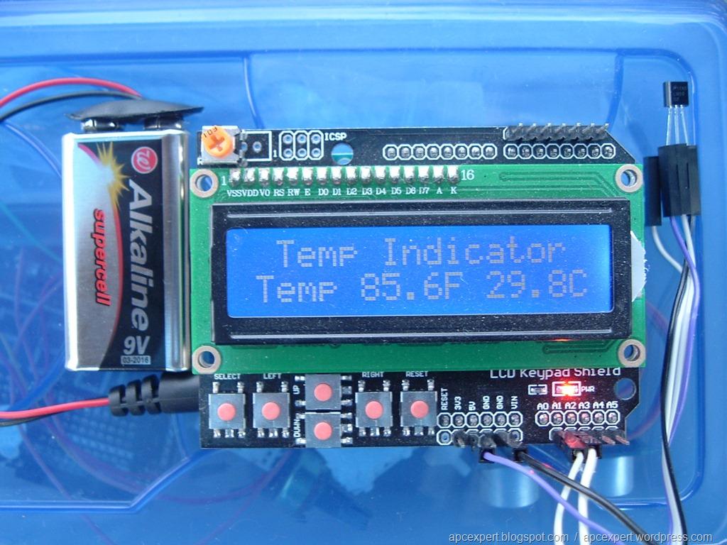 Arduino温度センサLM35DZで気温